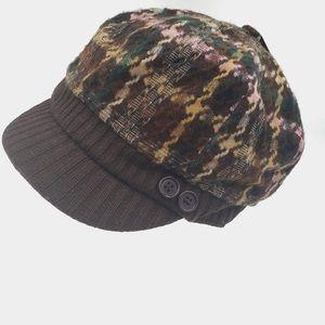MANHATTAN HAT COMPANY paper bot plaid hat